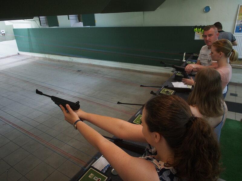 Koszalin 2.-12.6.2019 CECEM: vzuchovková střelnice