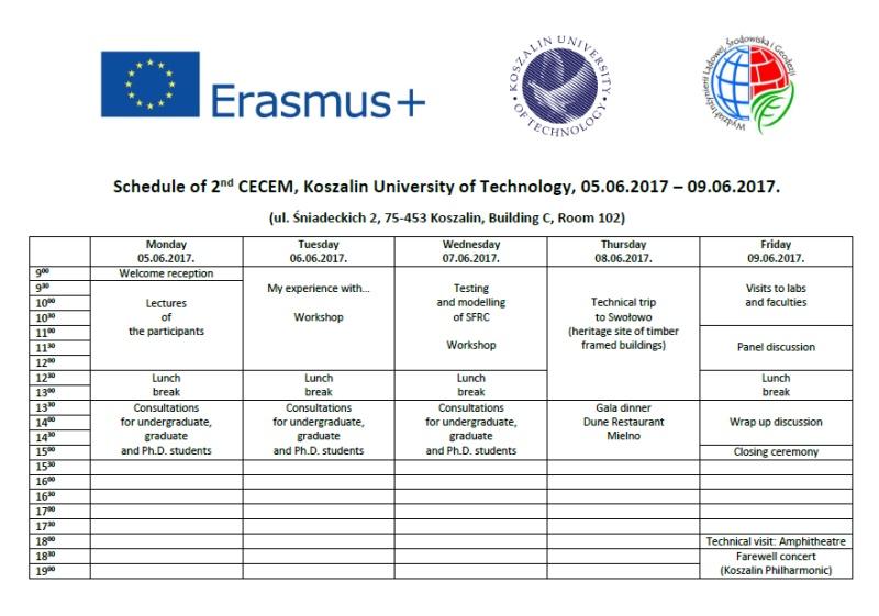 Schedule-CECEM-2017